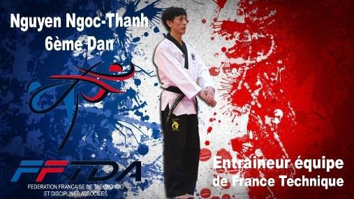 Maître NGUEN Ngoc-Thanh nomé entraîneur de l'équipe de France Technique