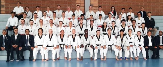 Passage régional de grades «Hauts de France» de taekwondo(1er au 4ème Dan)