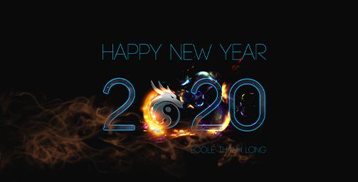Ecole de taekwondo Thanh-Long vous souhaite une excellente année 2020